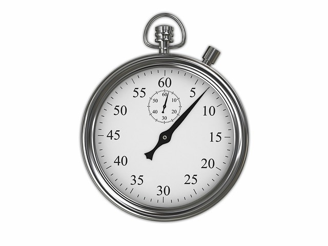 Reloj técnica pomodoro