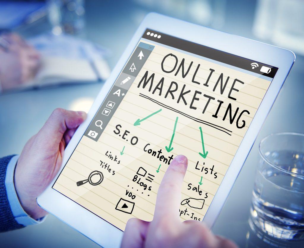 términos mas utilizados de de Marketing digital